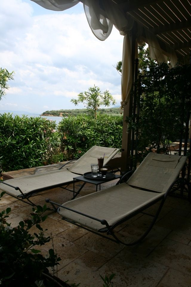 """""""I left on purpose the shutters of my room half-open overnight to be lulled by the melodious sound of the waves as i close my eyes..."""" #Afissos #Pelion"""