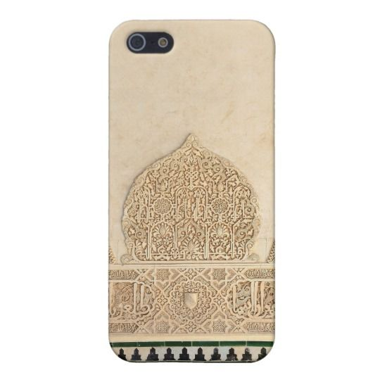 Decorative detail from Alhambra iphone case
