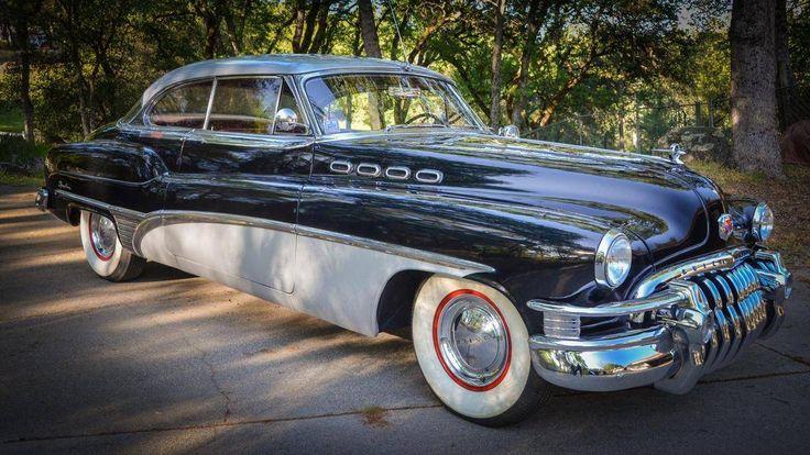 1950 Buick Roadmaster 76 R Rare 2 Door Hardtop Buick