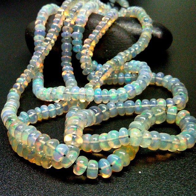 Ethiopian Opal Beads.
