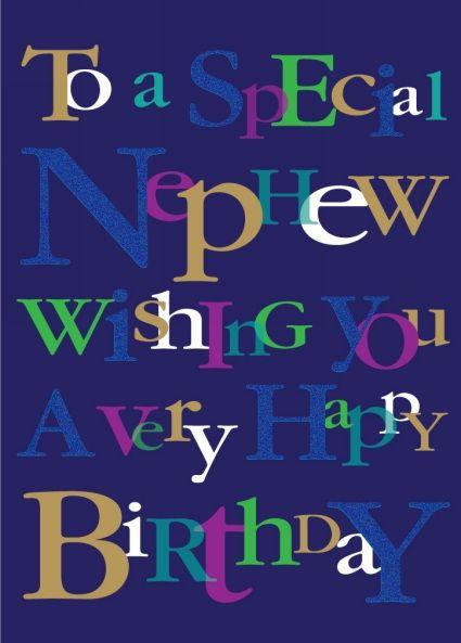 Ling Design Nephew Happy Birthday Card