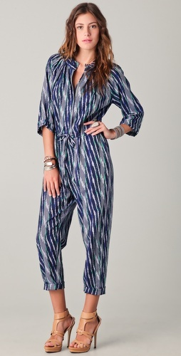Two of my favorite things-- Ikat and JumpSuits bu Of Two Minds