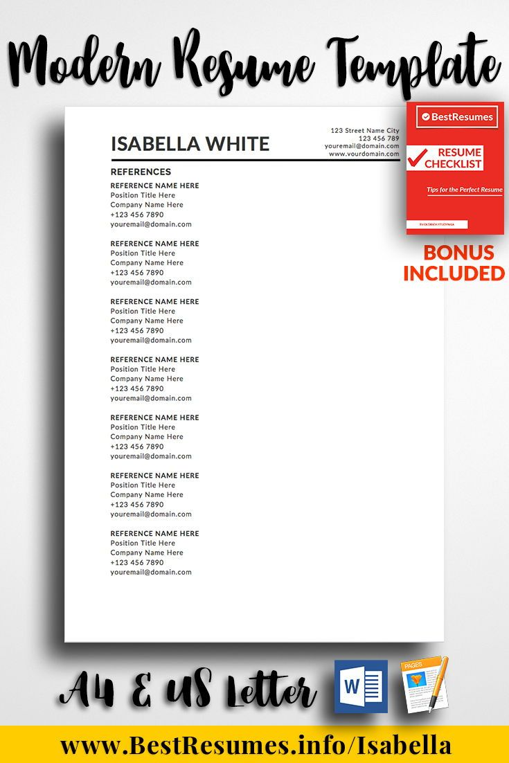 resume template isabella white simple resume templates pinterest