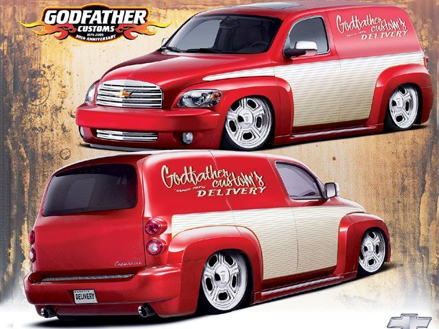 0804tr 02 Z+2008 Chevy Hhr Panel+godfather Customs