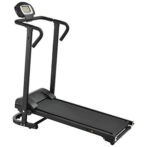 nice  Cinta de correr mecánica con pantalla LCD plegable entrenamiento en casa