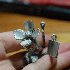 Lost wax casting for jewelry