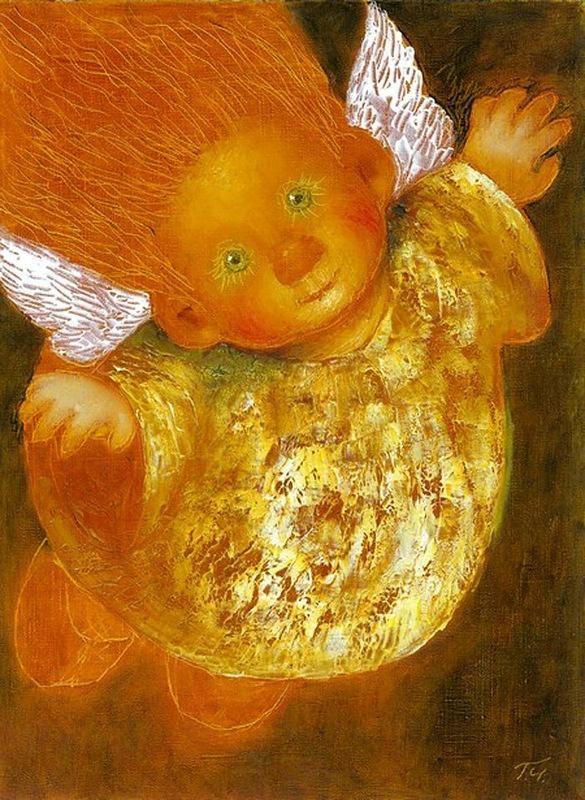 Добрые картины Галины Чувиляевой. -