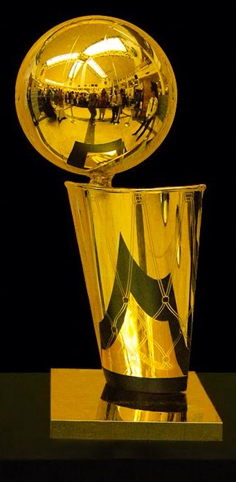 The Larry O'Brien NBA Championship Trophy is the championship trophy awarded annually to the National Basketball Association (NBA) Finals winner after the conclusion of the NBA Playoffs and NBA Conference Finals, and has been a new name of the Walter A. Brown Trophy since 1984.