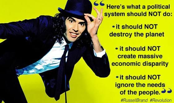 russell brand quotes politics - Google Search