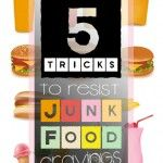 5 Tricks to Avoid Junk Food Cravings #Passion #Strength #Awareness SophySports.com