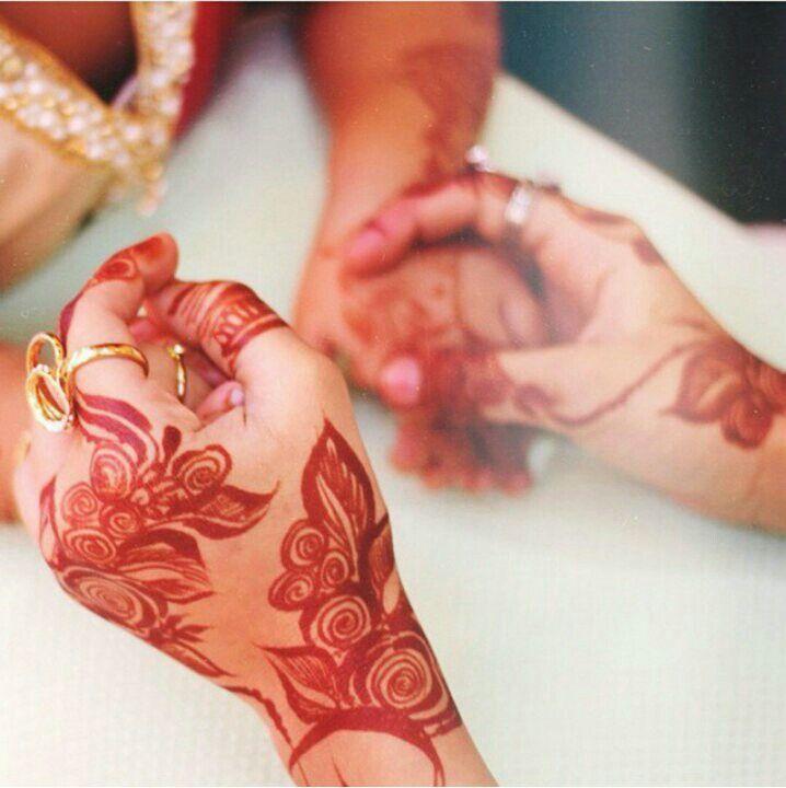 Wedding Henna Tattoo #MehendiMandalaArt @MehendiMandala