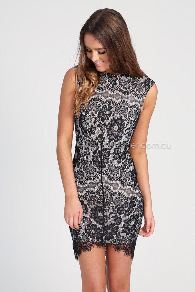 Lace black dress australia dressing room blog