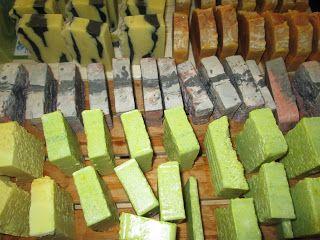 handmade soap --> www.girlsaresmelly.com