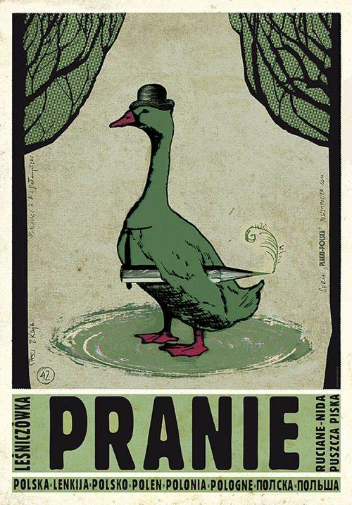 Pranie | Polish Promotion Poster, PLAKAT-POLSKA series, designer: Ryszard Kaja year: 2012
