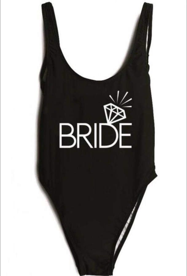 711375cc6388b Etsy Bachelorette Bathing Suit. Honeymoon Swimwear. Bride Swimsuit. Bride  Bathing Suit. Bride Swim. Wedding #ad