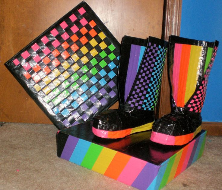 duct tape crafts | Duct Tape Boots by ~Meikoliie on deviantART Please follow us @ http://www.pinterest.com/ducktapesale/