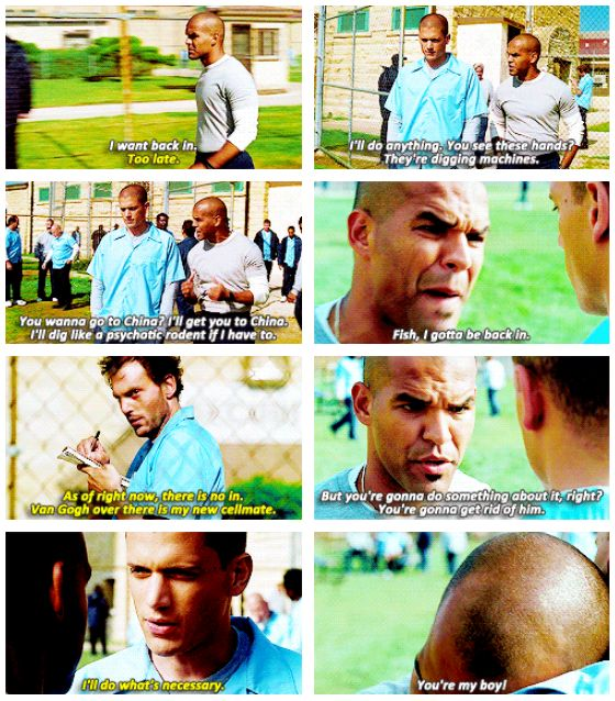 Sucre and Michael Scofield GIFset