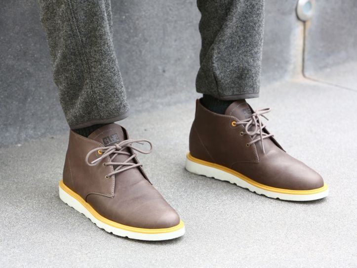 Seasonal and sophisticated, the Clae Winter 2013 Vibram Collection sees  four boot based silos showcase over the featured sole. The Clae Vibram  Jackson leads ...