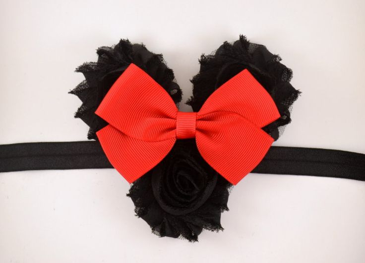 Red Minnie Mouse Ears Headband  - Minnie Mouse Halloween Costume - Disney Headband - Baby Headband - Toddler Headband - Adult Headband by scarletsshoppe on Etsy https://www.etsy.com/listing/205601645/red-minnie-mouse-ears-headband-minnie