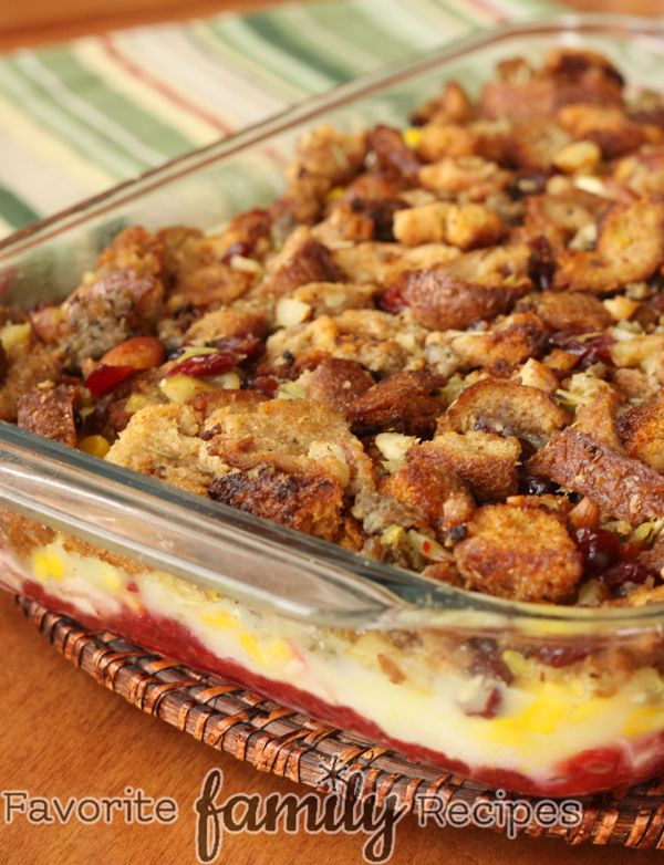 Thanksgiving Leftover Casserole on MyRecipeMagic.com