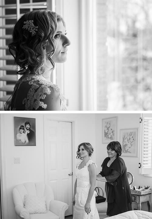ARTISTS SALON & SPA beautiful bride Andrea Di Febo & her wonderful mother Marianne Di Febo Photo by Tracey Allison Photography