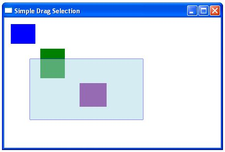 Click and Drag multi-selection rectangle with Javascript