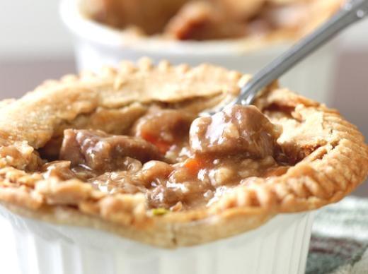 Simple Beef Pot Pie | Fried Chicken Tenders | Pinterest