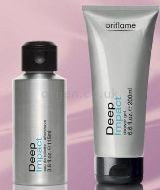 Deep Impact Set - Deep Impact - Men fragrances/ EDT - Shop for Oriflame Sweden - Oriflame cosmetics –UK & USA - Deep Impact Set 18911 & 16472 |orinet/mens fragrance