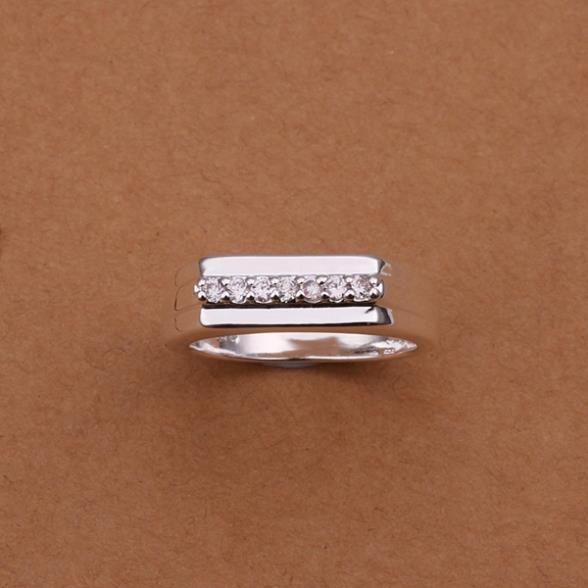 Кольца посеребренная ювелирных изделий кольца 925 мычка изысканный современные женщины мода симпатичный кольцо wlll LSR233