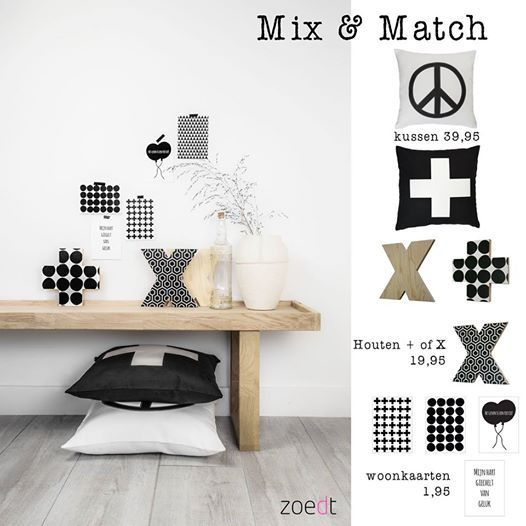 Shop the look and Mix & match! www.zoedt.nl
