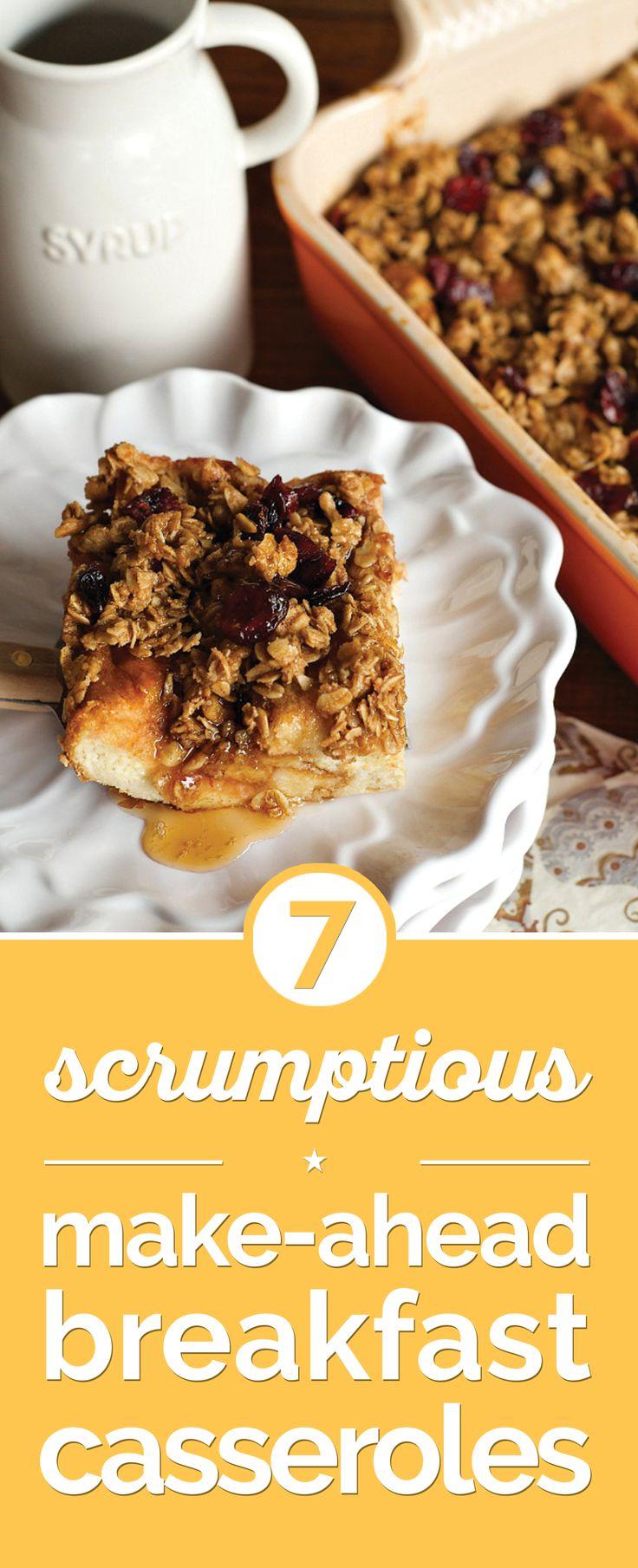 7 Scrumptious Make-Ahead Breakfast Casseroles - thegoodstuff