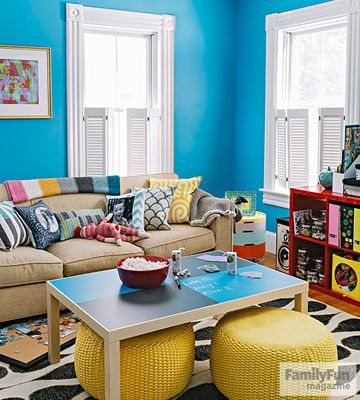 fun ways to fix up your living room to fix home and parenting