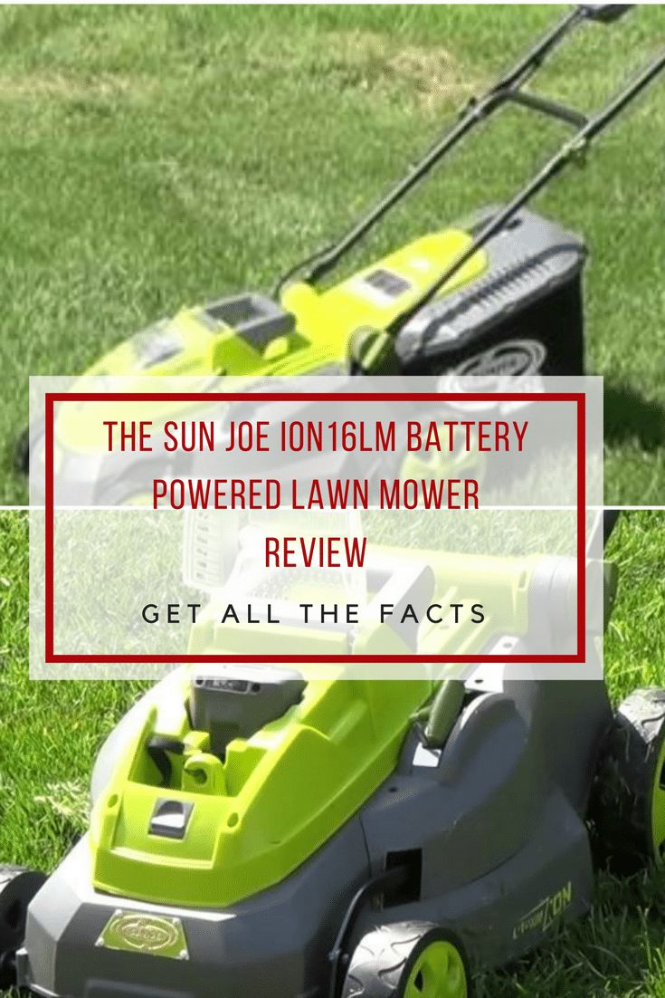 If you are looking for a mid range battery powered lawn mower in the $200-$300 price range, then check out our Sun Joe iON16LM review!  via @powertoolsninja
