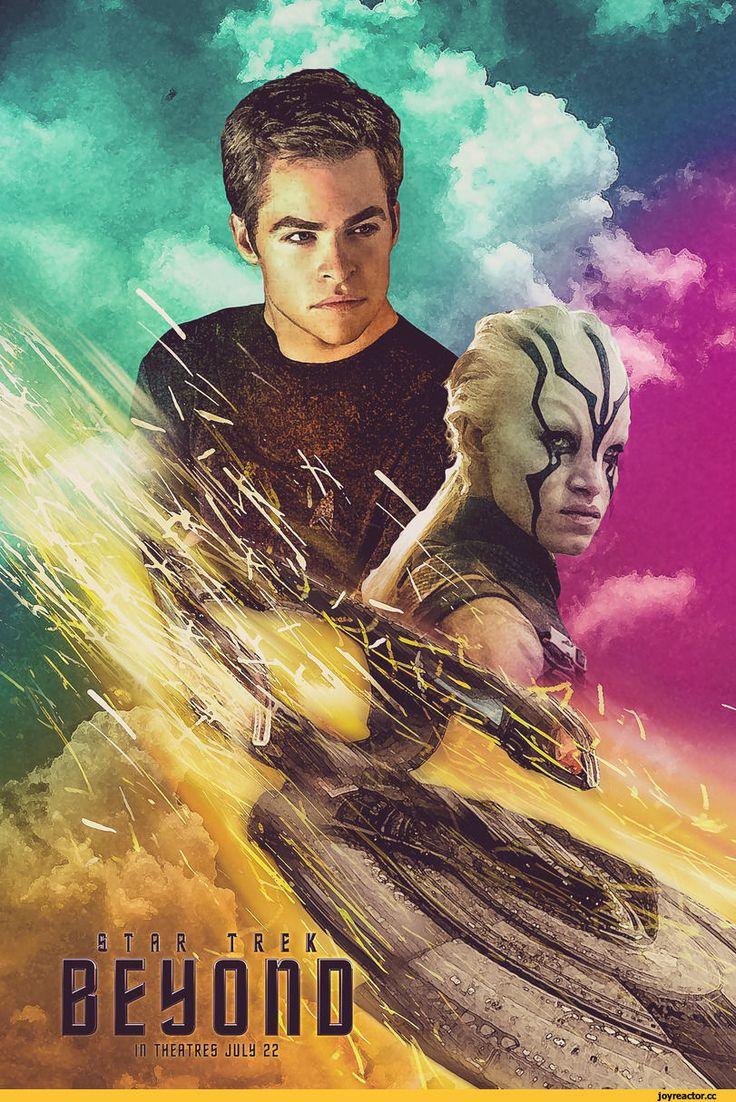 "Star Trek Beyond : Poster Movie 2016 BANNER Vinyl 11""x17"" # Z | eBay"