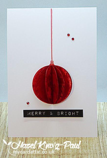 My Card Attic: QACAS Christmas