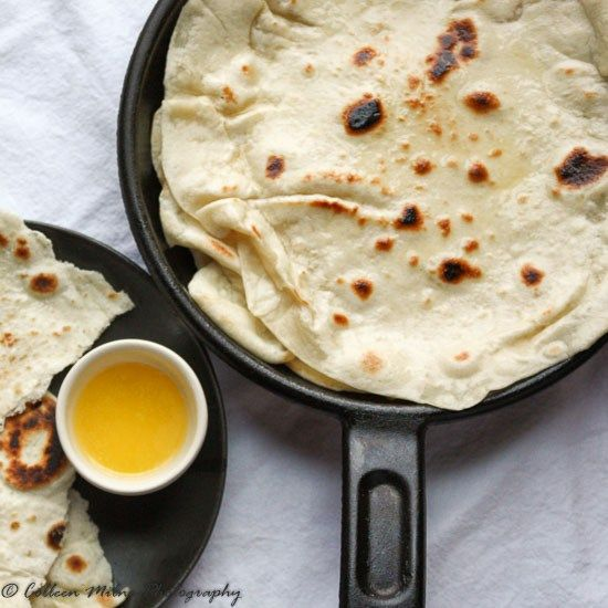 Naan Bread from Scratch