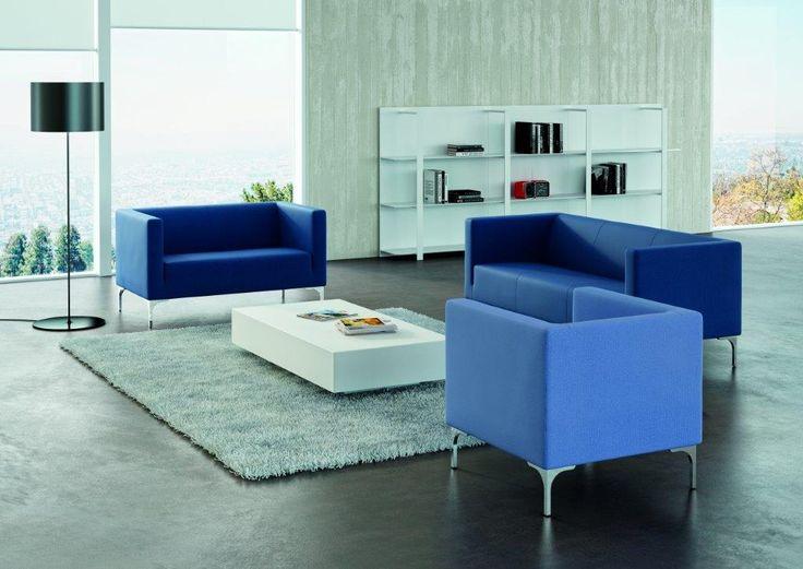 Modern lounge reception furniture. Motiva Allessa