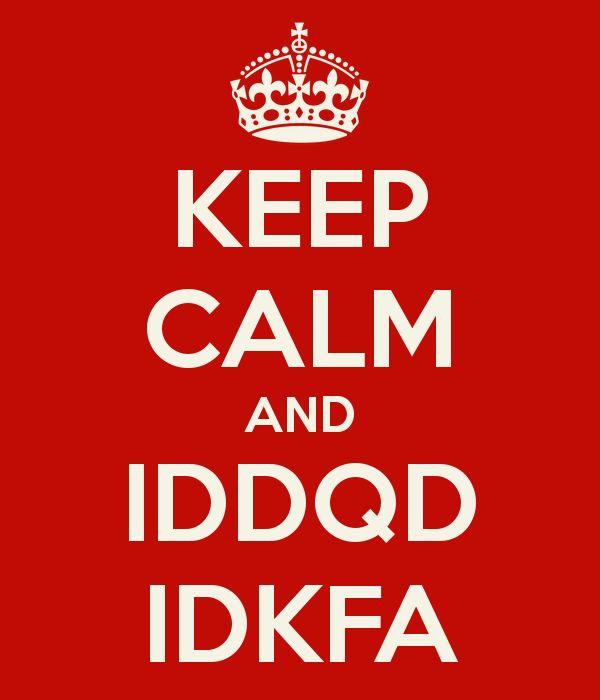Keep Calm DooM edition