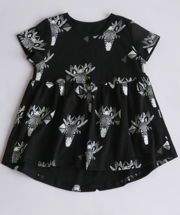 Zebra Dress. $49.95. Organic Cotton, Unisex, Ethical & 100% made in Melbourne with love.