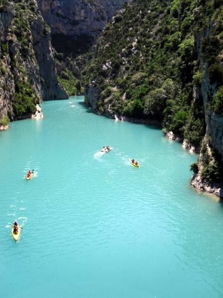 Lago Sainte-Croix du Verdon - Provance - France