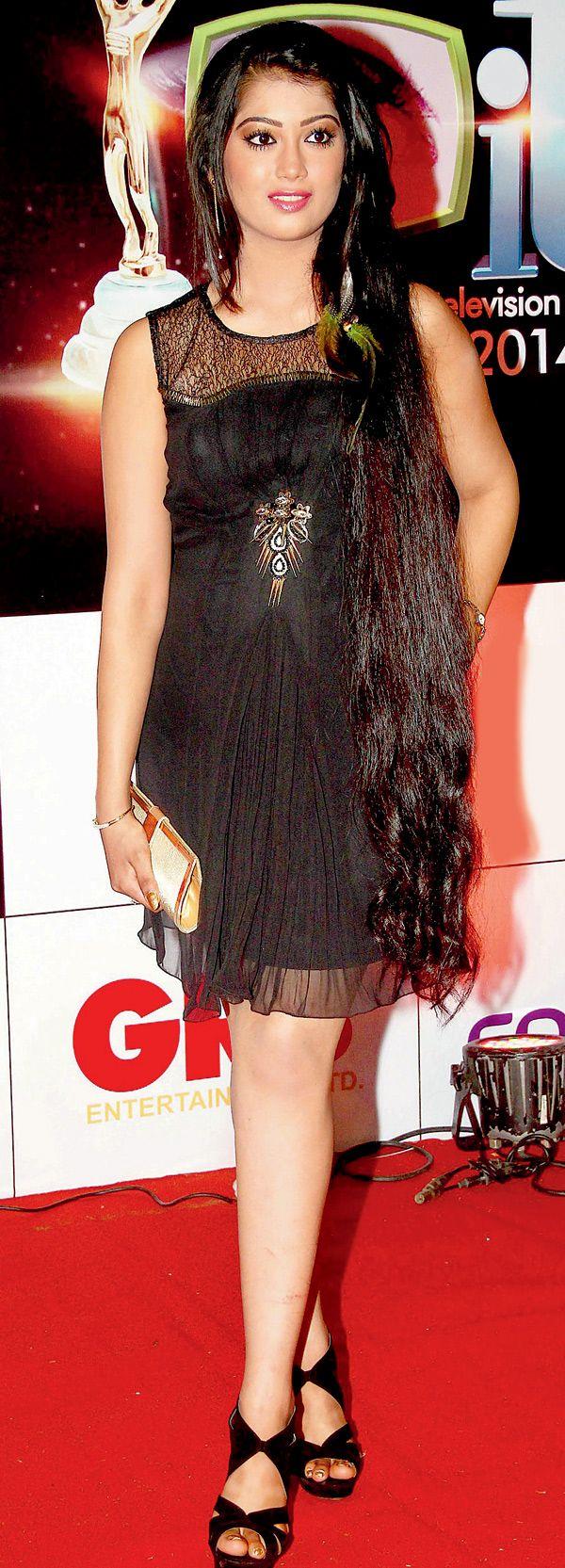Digangana Suryavanshi at the 14th Indian Television Academy Awards 2014. #Bollywood #Fashion #Style #Beauty