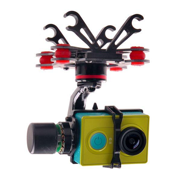 XiaoMi Yi  3 Axis Brushless BL Gimbal  For XiaoYi Sports Camera  FPV