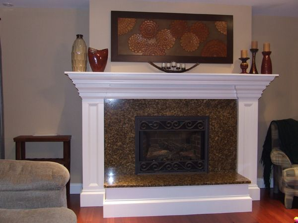 21 best images about decorating fireplace mantels on pinterest ceramics candle decorations - Fireplace mantel designs in simple and sophisticated style ...