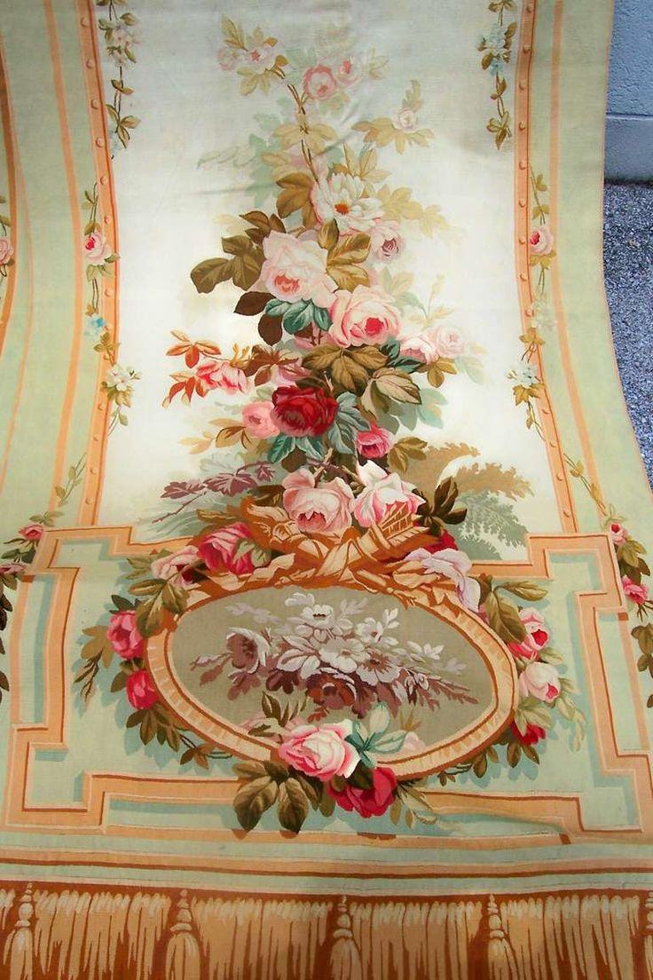 333 best aubusson images on pinterest for Decoration fenetre