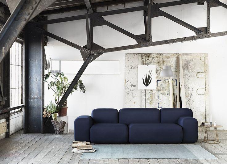 Muuto soft block sofa - via Coco Lapine Design