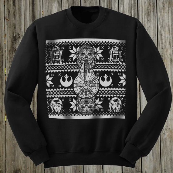 Star Wars sweater. Ugly Christmas Sweater. The di PressThreads