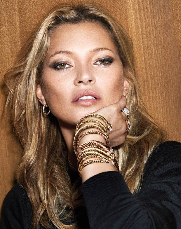 Kate Moss and Anna Ewers for David Yurman Holiday 2015