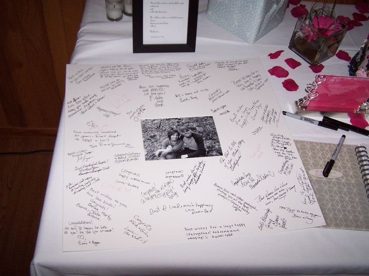 Alternatives To Wedding Guest Book Photo Frame Guest Books