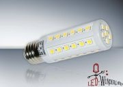 LED Stift Lampe E27 500 Lumen weiß
