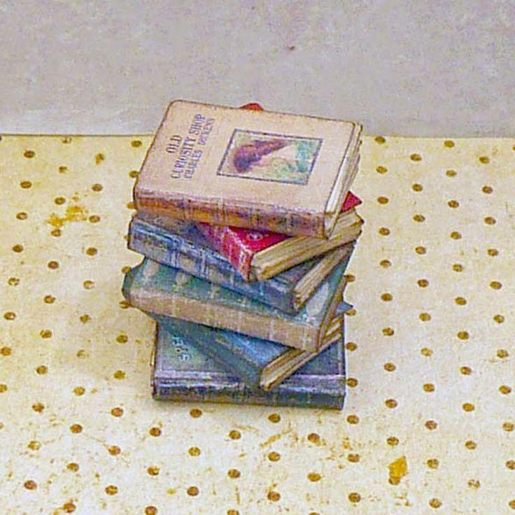 Dollhouse Miniatures Diy Tutorials: 17 Best Images About Tutorials: Miniature Books On